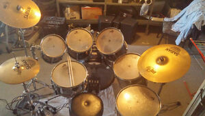 Drum kit Pearl Export Pro Series 7 morceaux