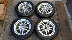 """RIMS and TIRES - 16"""" Universal bolt pattern w/ good rubber"""
