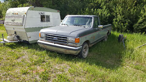 1989 Ford F-150, 154K, Power windows, Locks, Cruice, A/C