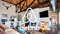 Avis aux propriétaires: service de gestion/location sur Airbnb!