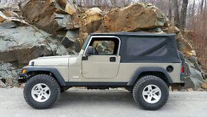 2005 Jeep TJ, LJ unlimited rubicon