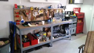 2x work bench excellent condition (no tools)