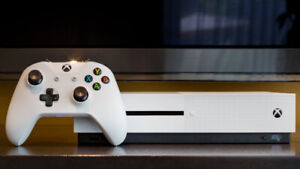 Xbox One S 1 Tb with Wireless Controller