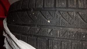 Set of 175/70/R14 winter tires on steel rims (4x114.3) Kitchener / Waterloo Kitchener Area image 6
