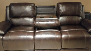 Cindy Crawford powered leather recliner Cambridge Kitchener Area image 3