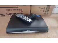 Sky + HD box with Remote and power cord