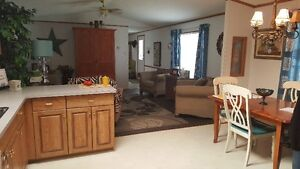 WELL MAINTAINED MOBILE HOME LOCATED IN BLACKIE