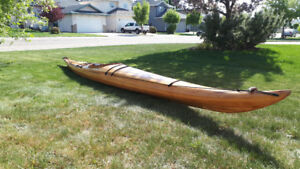 17' Cedar Strip Sea Kayak