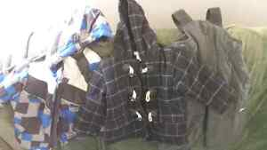 Boys 2 piece snow suit and style winter jacket SOLD