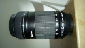 Objectif Canon 55-250 IS STM