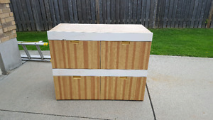 Four Drawer Toy Chest