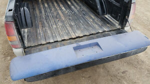 Silverado SS front bumper and roll pan