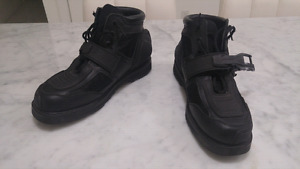 Icon Motorcycle Boots - Black -Sz 11