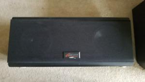 D-box center speaker