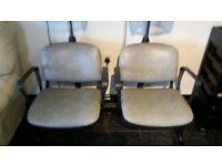 Hood dryer seating unit