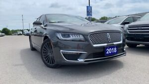 2018 Lincoln MKZ Reserve 2.0lt Awd Loaded With Heated / Cooled..