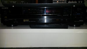 Sony 5 CD Player mint condition (best in the business)