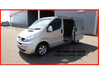 2012 RENAULT TRAFIC 2.0dCi EU5ECO SL27 PHASE 3 SAT NAV 115ps SPORT SILVER DIESEL