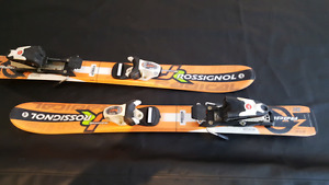 Rossignol skis for small kids. Size 80cm. Perfect for learning