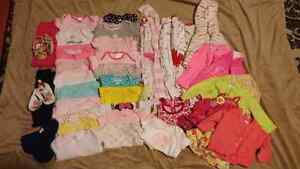 Baby girl clothes 3-6 mths lot 4 Cambridge Kitchener Area image 1