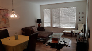 Furnished apartment for rent.