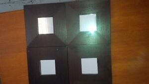 6 IKEA mirrors 10 by 10""