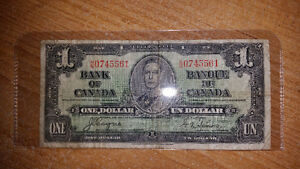 LOOKING TO PURCHASE OLD PAPER MONEY FROM B4 1989................ London Ontario image 10