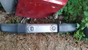 07-17 Jeep Wrangler Front and Rear Bumper