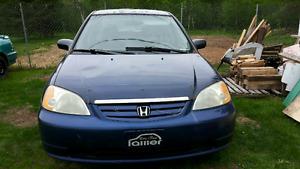 Honda civic 2003 manuel