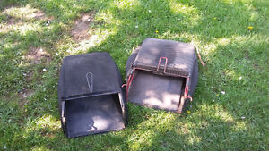 2 yardworks lawn mower bags, $5 for both of them.