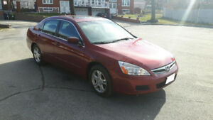 2007 Honda Accord SE Sedan with Certification Included