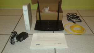 rooter et wifi Bell (prise alimentation manquante)