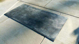 """THICK RUBBER SHEET MAT 1/2"""" thick Workshop Shed Floor Machinery"""