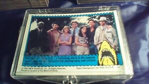 Desert Storm, Jaws 2 and Jaws 3D Trading Cards Complete Sets Stratford Kitchener Area image 4