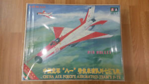 1/48 Scale Model Aircraft MiG-21 F-7 J-7
