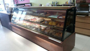 PASTRY DISPLAY FRIDGE -WITH GRANITE COUNTER TOP & BODY