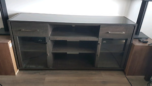 Large tv stand entertainment center cabinet