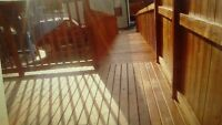 *****Deck Staining**Houses***Fences**Interior/Exterior Painting*