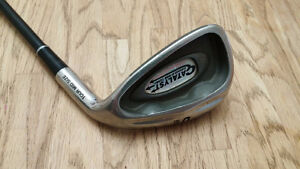 Graphite Bubble Shaft Irons, bag, 2 drivers and a putter