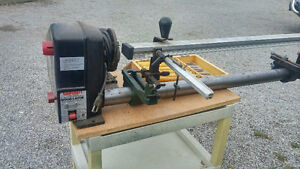 Wood Lathe with Duplicator and tools