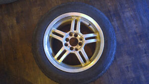 Studded Winter Tires ON RIMS - *Great Condition* -
