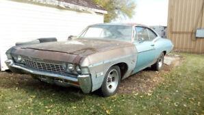 1968 Chevrolet Impala FASTBACK - Please READ the AD