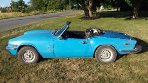 1978 Triumph Spitfire- $4000 or trade for cruiser motorcycle