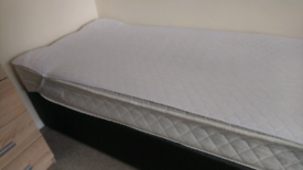 Single Divan Bed Including Cool Touch Mattress