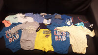 Boys Fall/Winter Clothes NB, 0-3 Months, and 3-6 Months