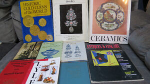 Antique and catalogue books(10)