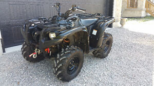 2010 YAMAHA GRIZZLY 550 EPS, Power Steering, Winch, 1894 Miles