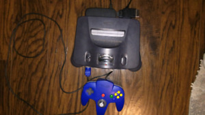 N64 w/controller 1 game all cords
