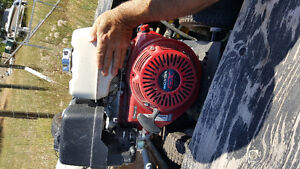 Power washer with trailer and accessories