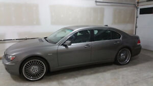 2006 BMW 750Li - Summer and Winter Rims, Low KMs
